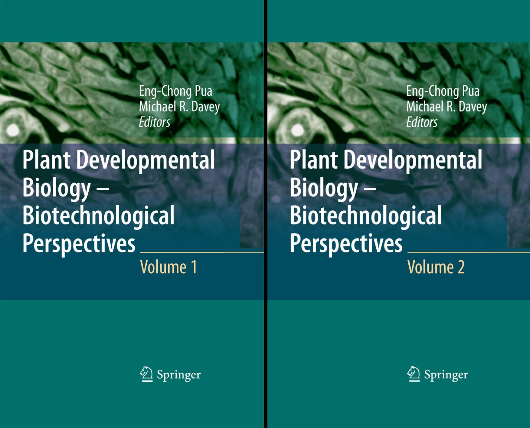 Plant Developmental Biology: Biotechnical Perspectives (2 Book Series)