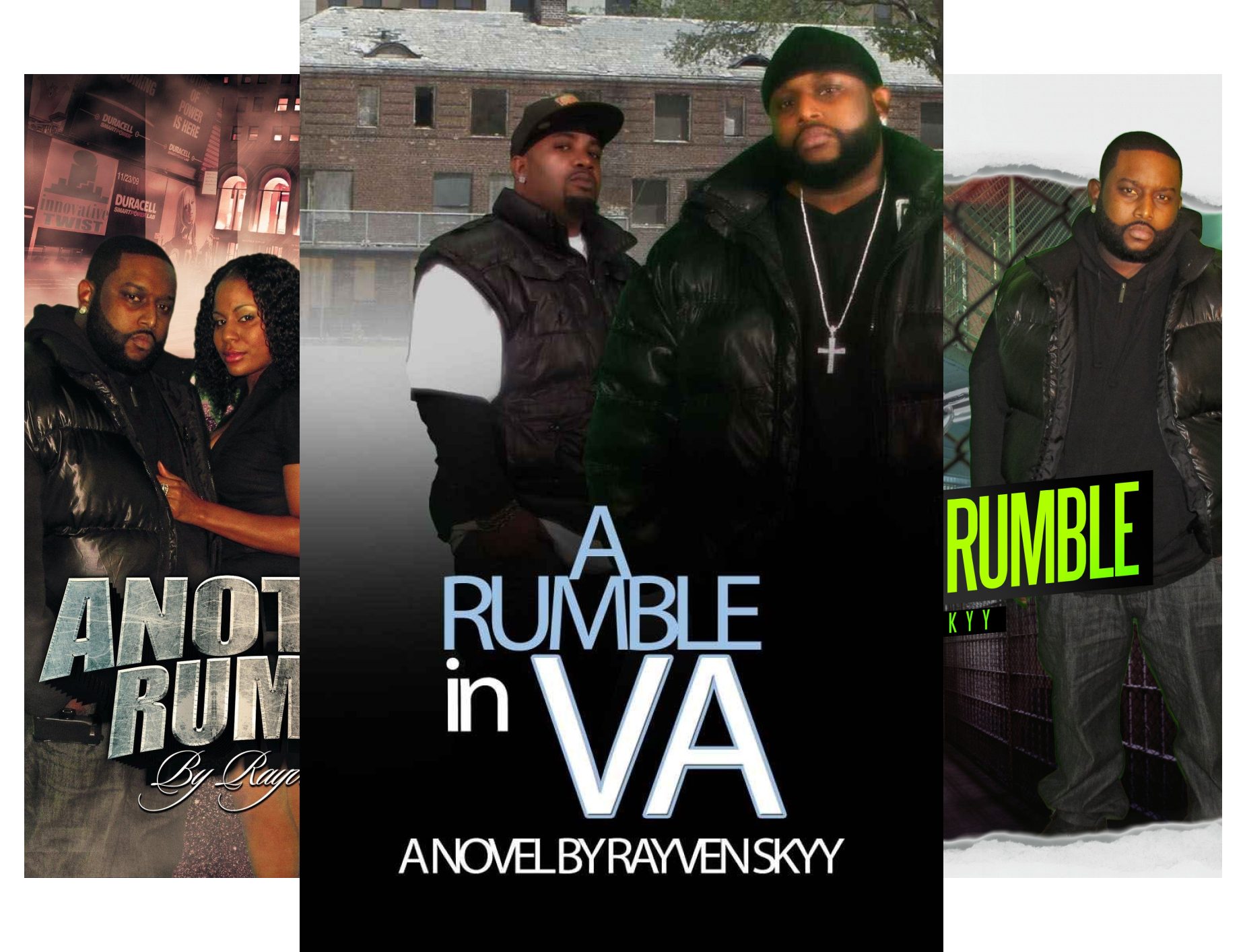 Books : The Rumble Series (5 Book Series)