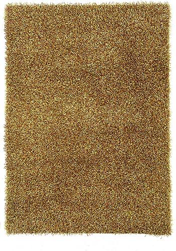 Linon Confetti Collection Area Rug 5 x 7 Grass Green Brown