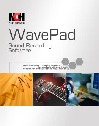 Amazoncom Wavepad Free Audio Editor Create Music And Sound