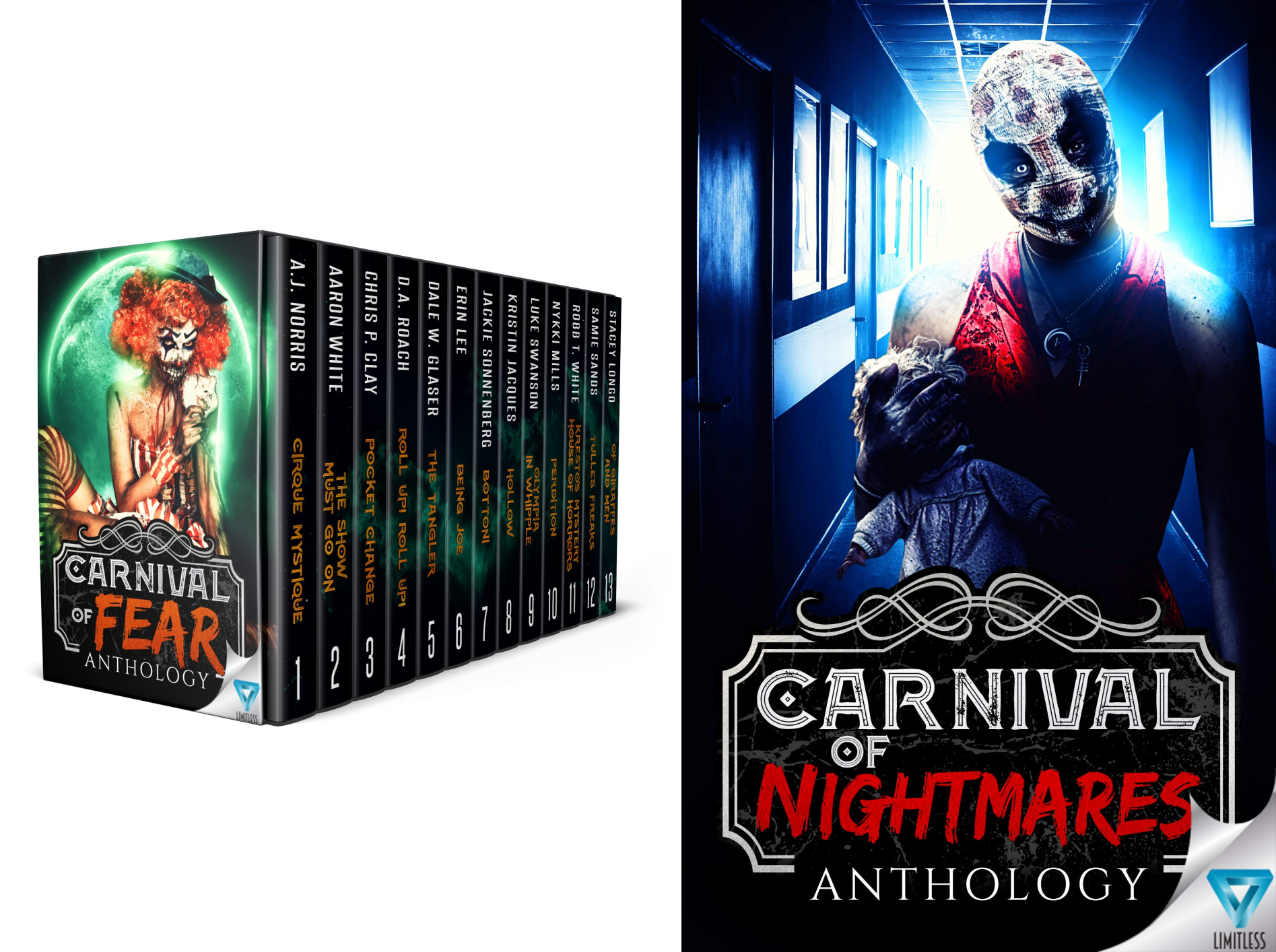 Books : Creepiest Show On Earth (2 Book Series)