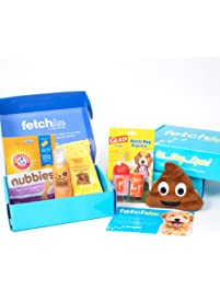 FetchBox - The Monthly Subscription Box For Dogs Curated by Fetch For Pets
