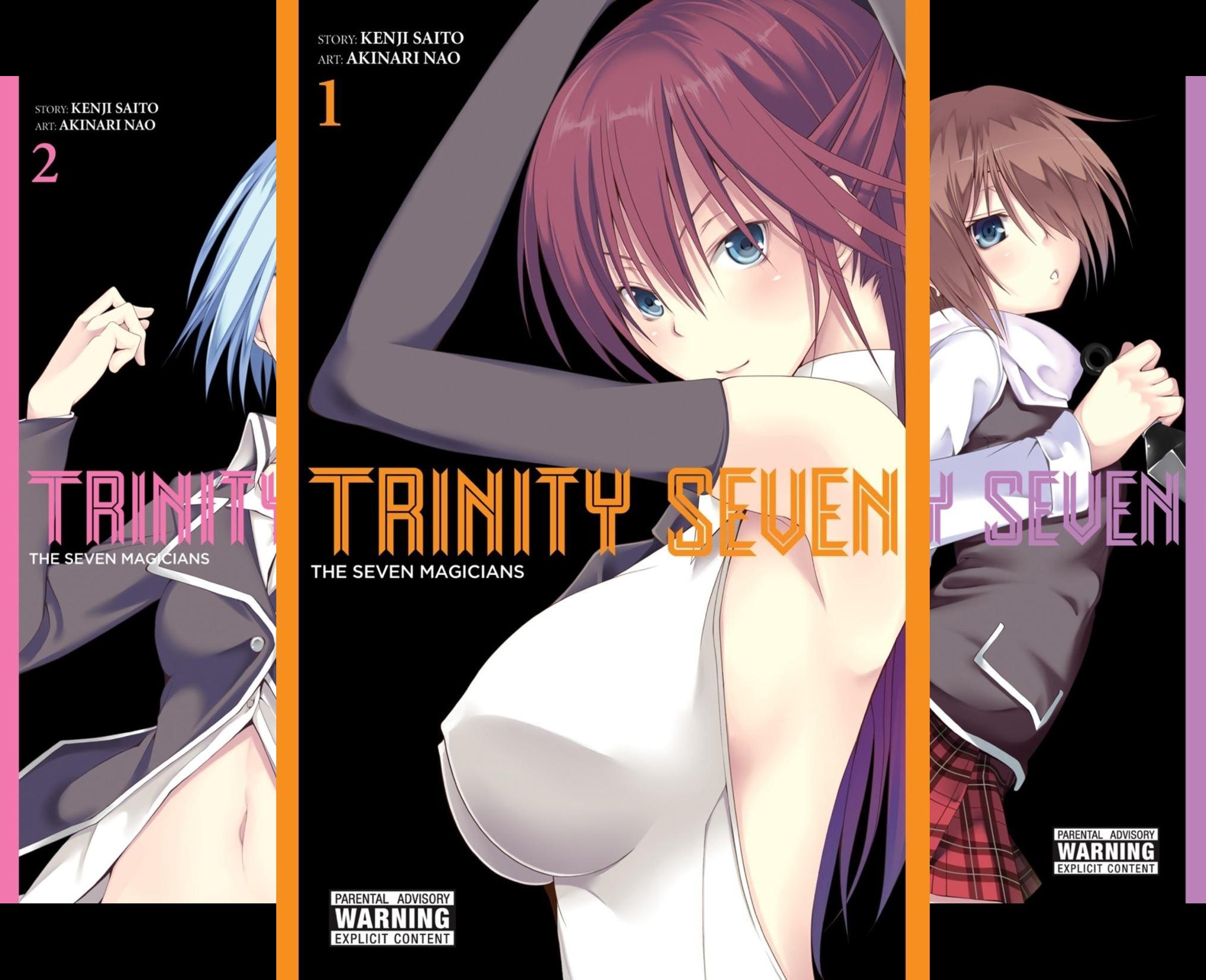 Trinity Seven (11 Book Series)