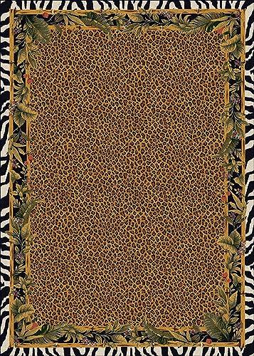 Milliken Signature Collection Jungle Safari Rectangle Area Rug, 10 9 x 13 2 , Skins
