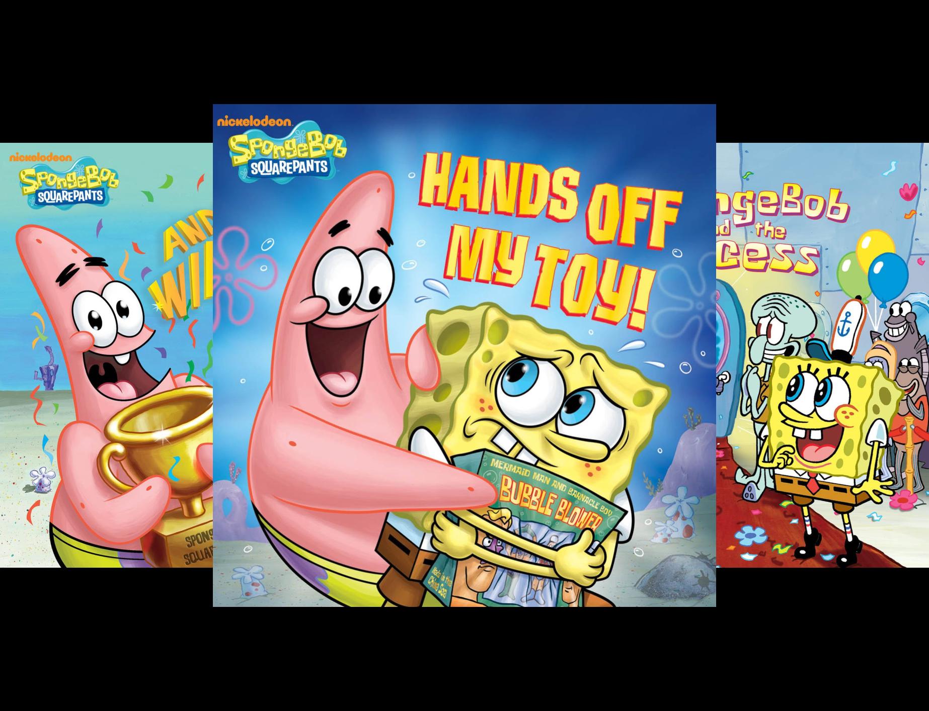 SpongeBob's Box of Books (SpongeBob SquarePants) (6 Book (Spongebobs Box)