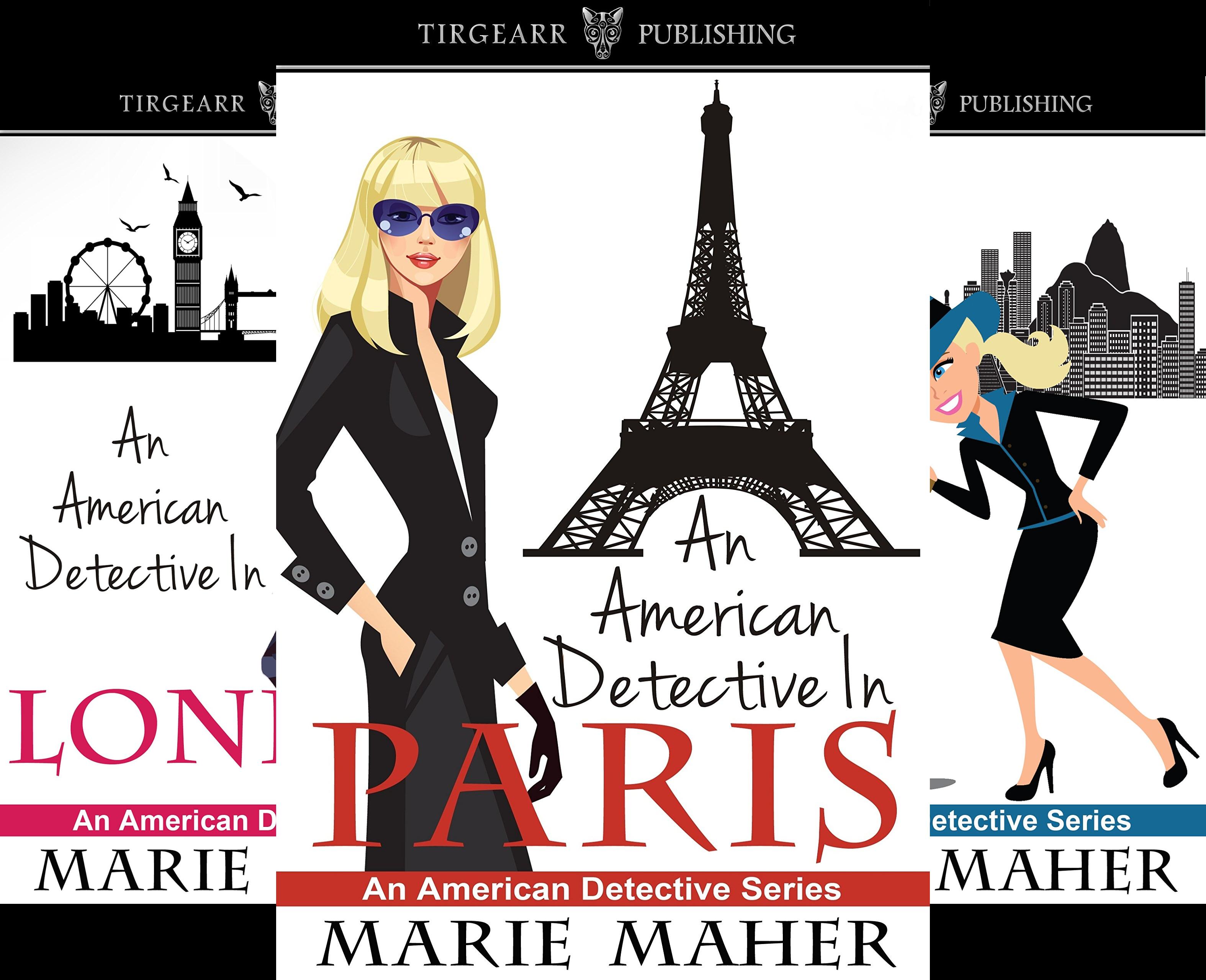 An American Detective Series (3 Book Series)