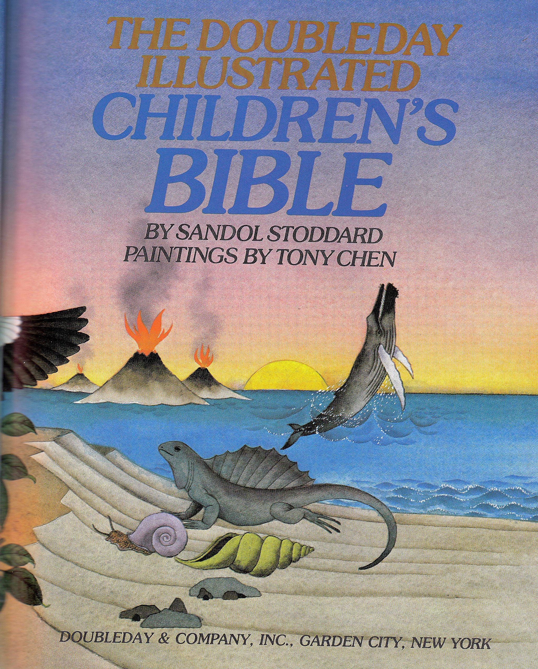 doubleday illustrated children u0027s bible sandol stoddard