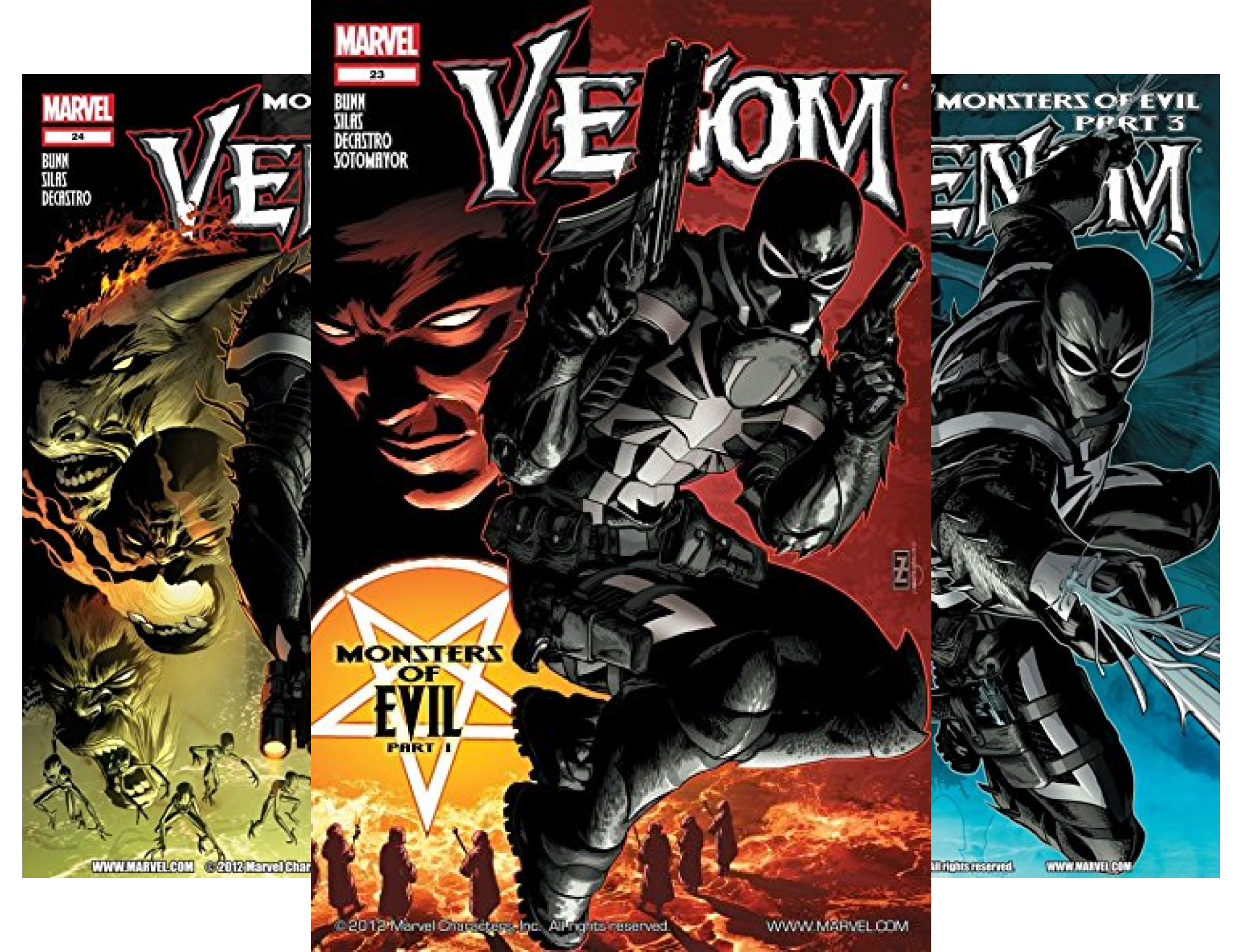 Venom Collection (6 Book Series) (Joe Sotomayor)