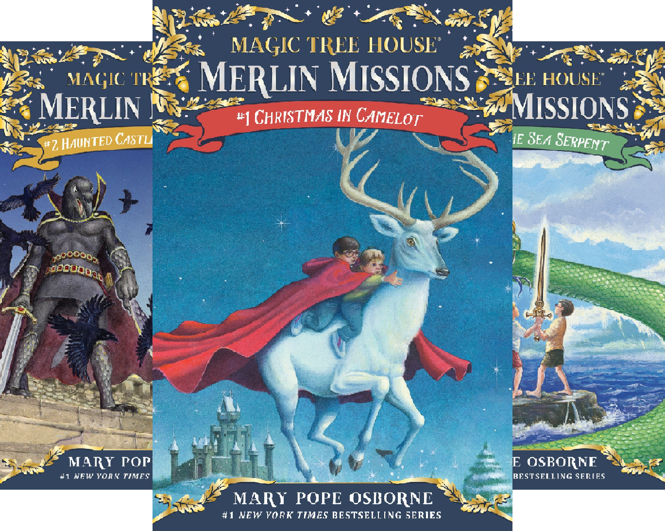 Magic Tree House (R) Merlin Mission Book (26 Book Series) -