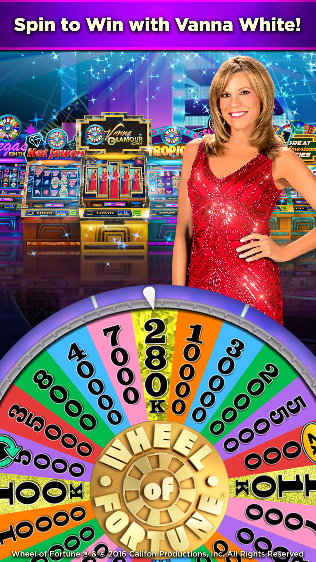 wheel of fortune slots the ultimate collection with vanna white appstore for android. Black Bedroom Furniture Sets. Home Design Ideas