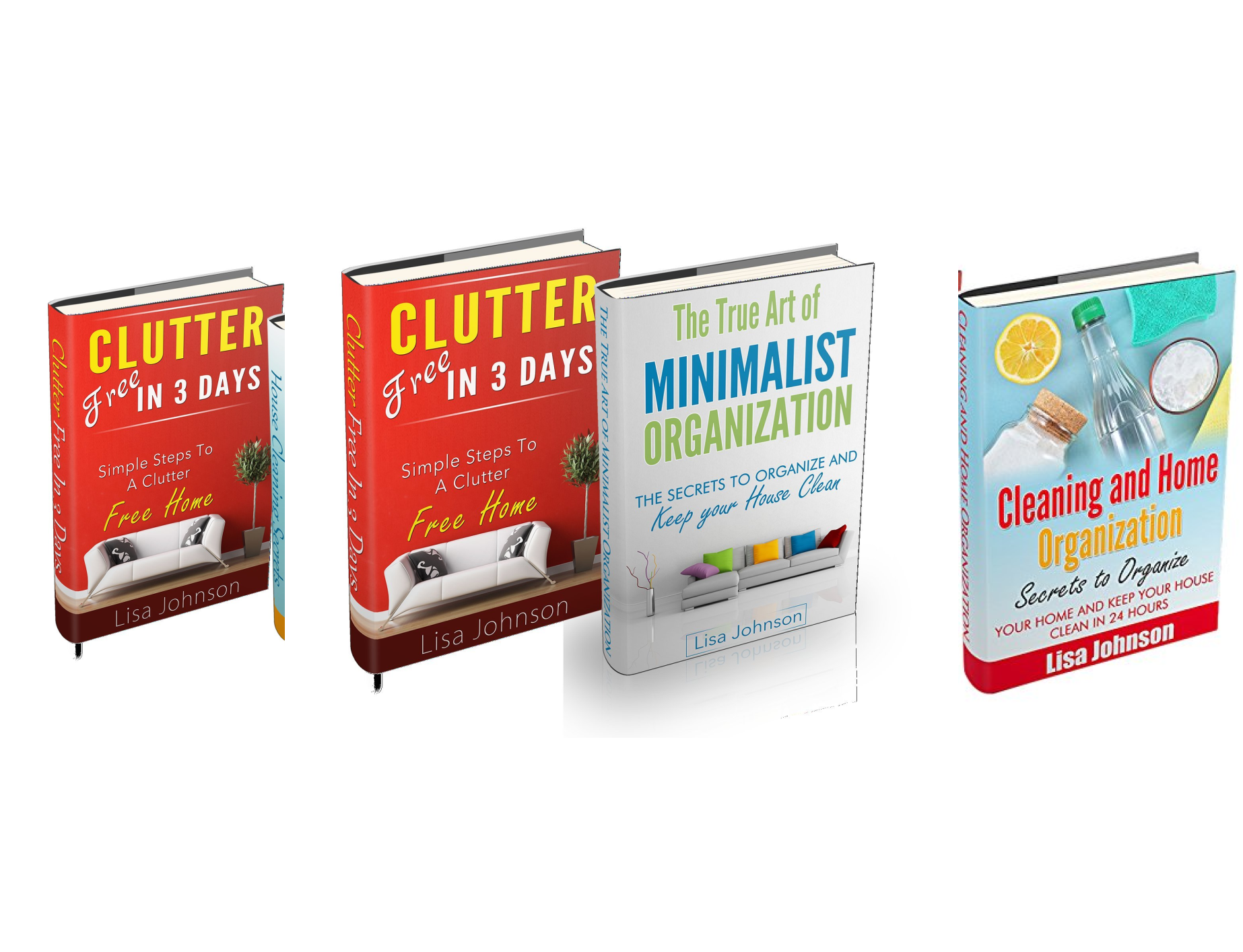 Cleaning and Home Organization Box-Set (10 Book Series)