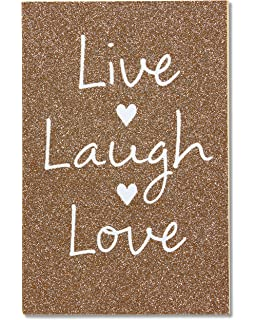 Amazon american greetings funny sunny side up wedding card american greetings live laugh love wedding card with glitter m4hsunfo