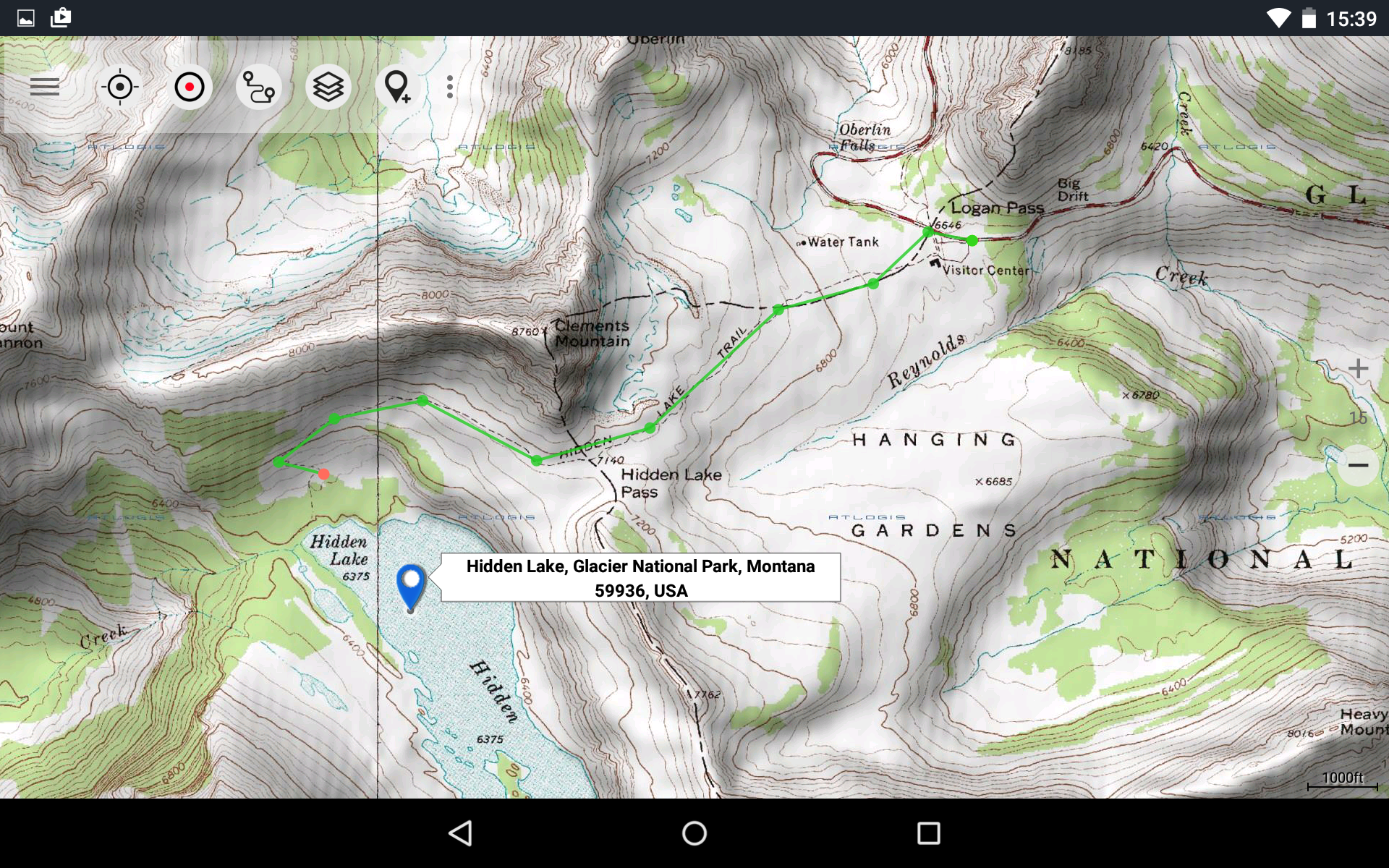 Amazoncom US Topo Maps Pro Appstore For Android - Us topographic map kmz