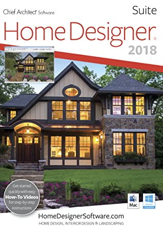 Home Designer Suite 2018 - Mac Download [Download]