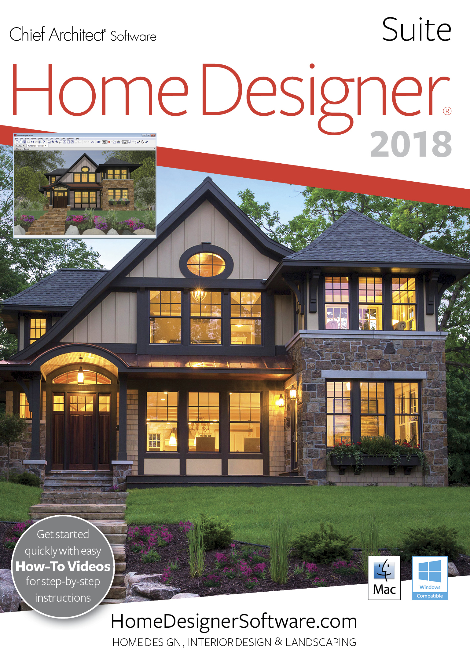 Software : Home Designer Suite 2018 - Mac Download [Download]