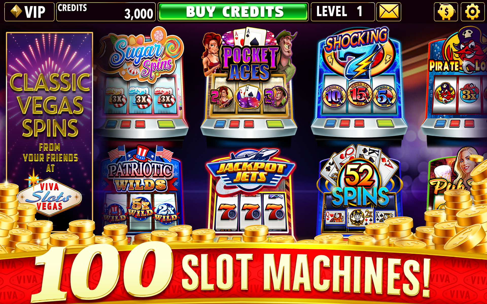 Free Vegas Slot Machines