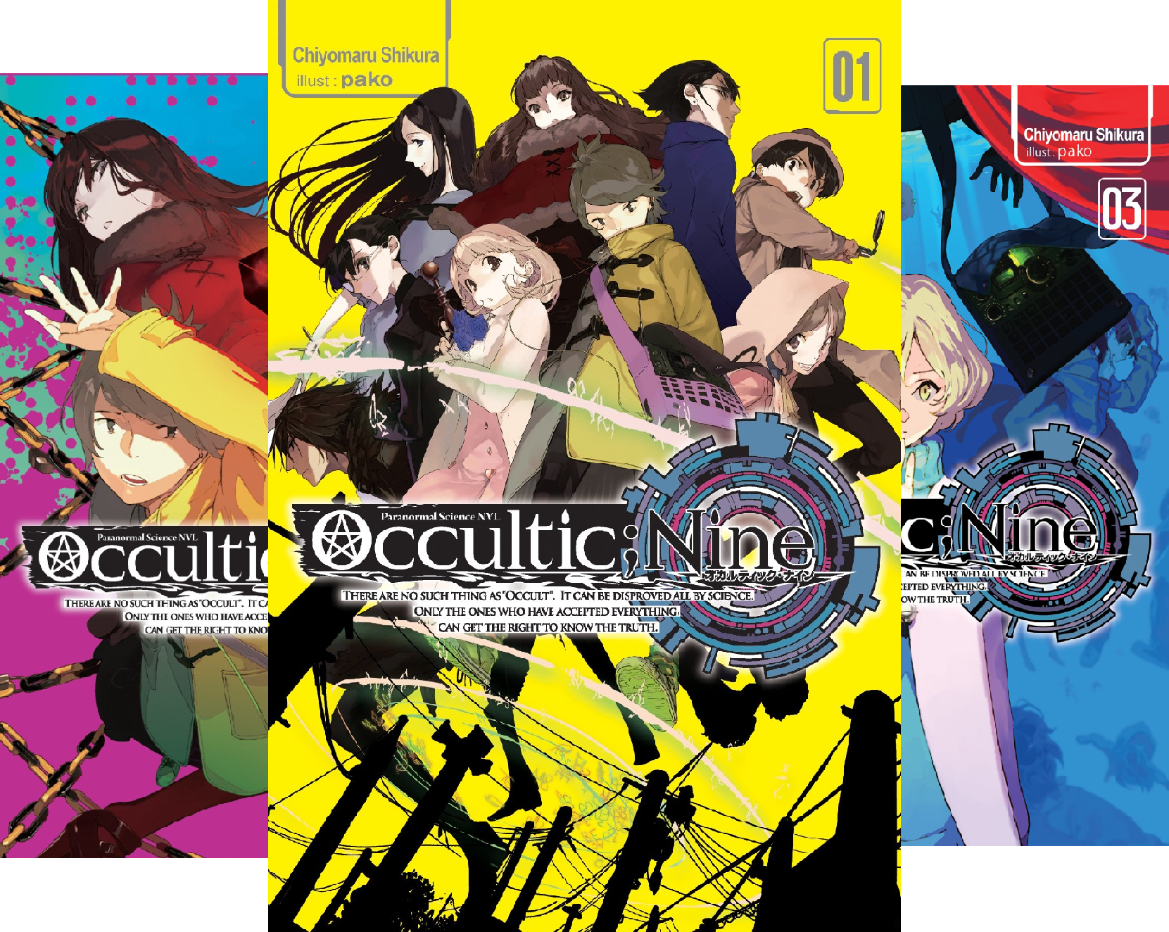 Occultic;Nine (3 Book Series)