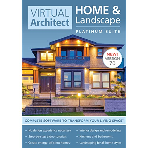 Virtual Architect Home U0026 Landscape Platinum Suite 7.0 [Download]