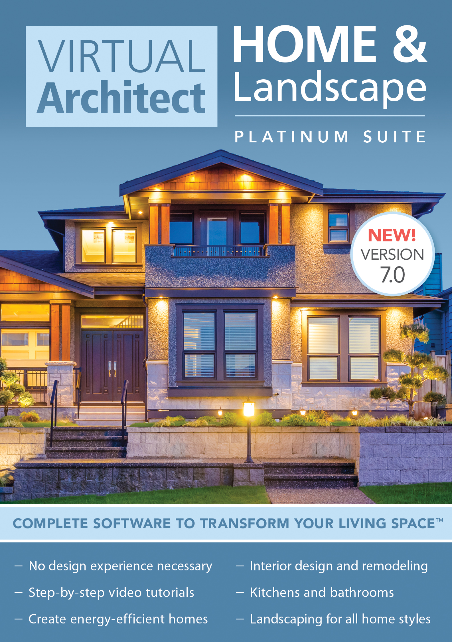 Virtual Architect Home & Landscape Platinum Suite 7.0 [Download] by Nova Development