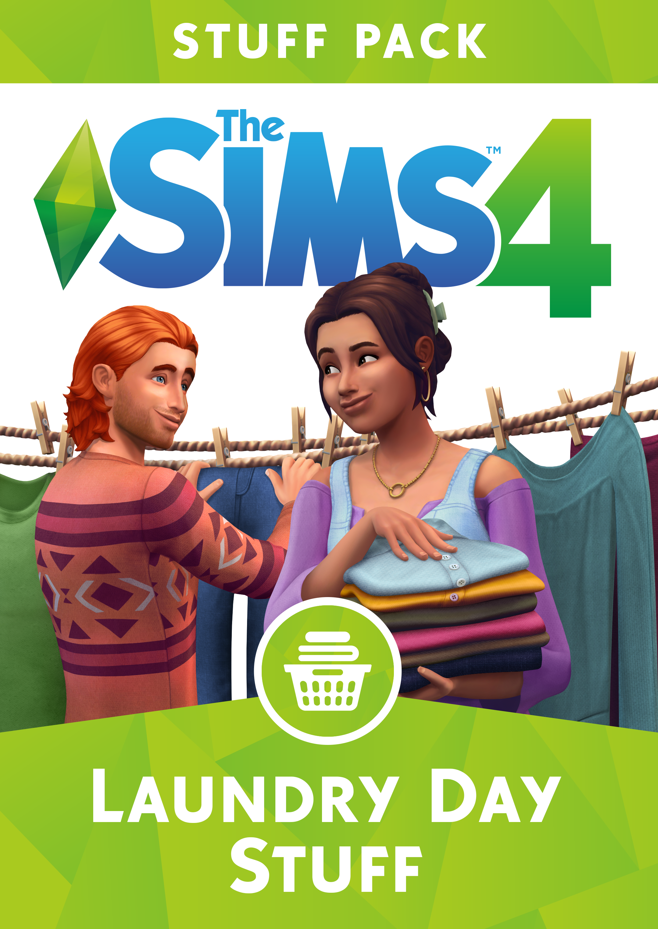 The Sims 4 Laundry Day Stuff [Online Game Code] (Sims 4 Cats And Dogs Expansion Pack)