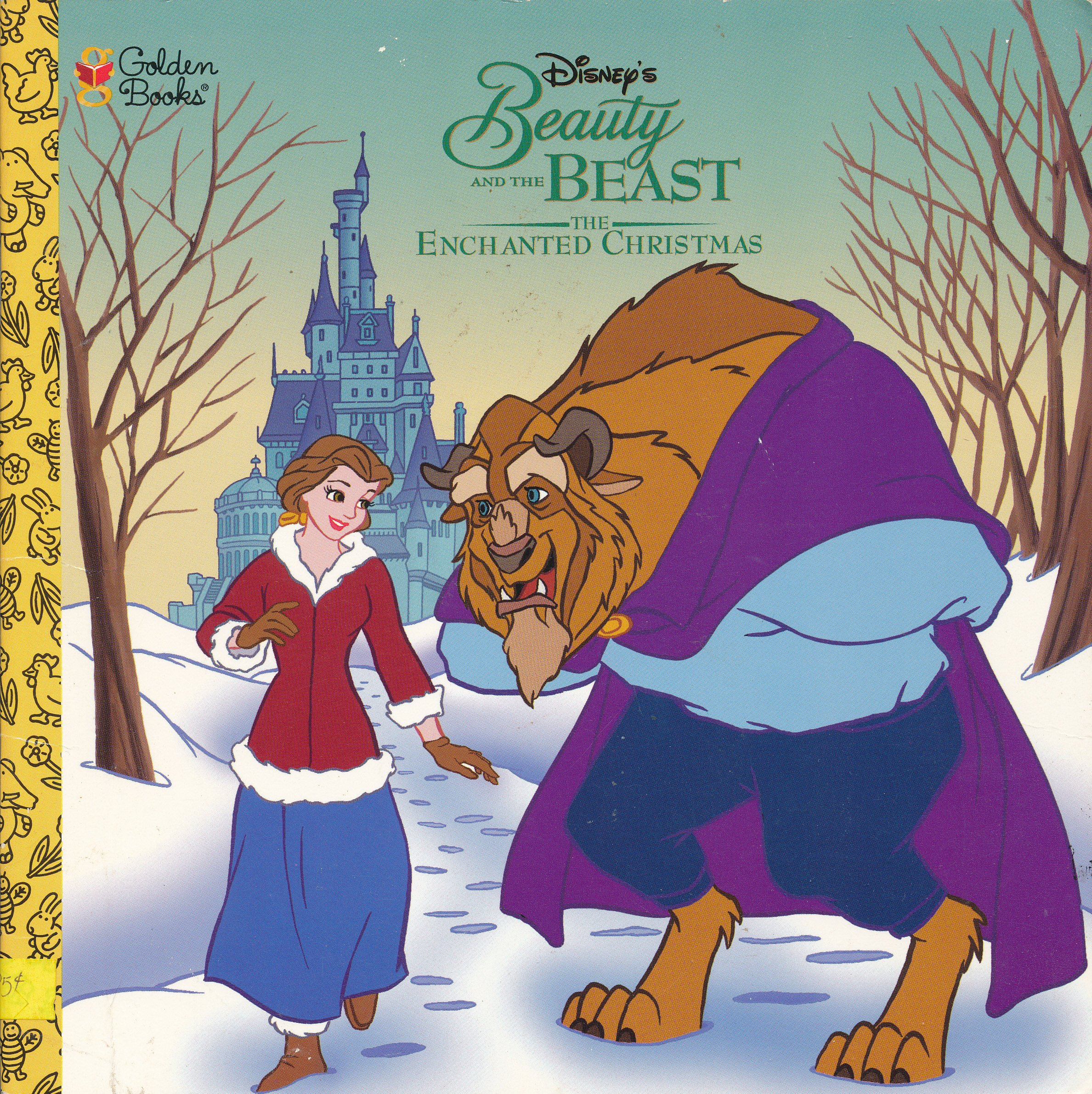 Beauty And The Beast Christmas.Buy Disney S Beauty And The Beast The Enchanted Christmas