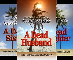 Jessica Huntington Desert Cities Mystery (5 Book Series) by  Anna Celeste Burke