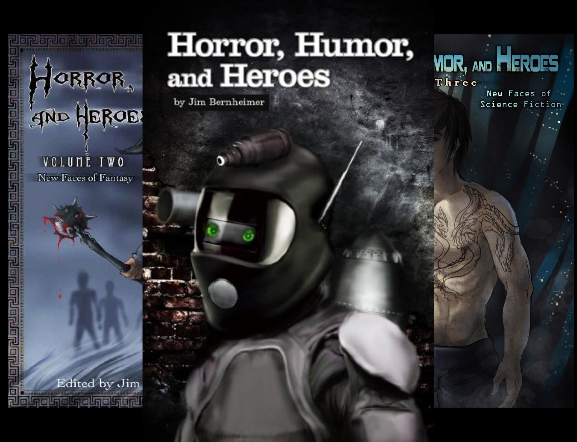 Horror, Humor, and Heroes (4 Book Series)
