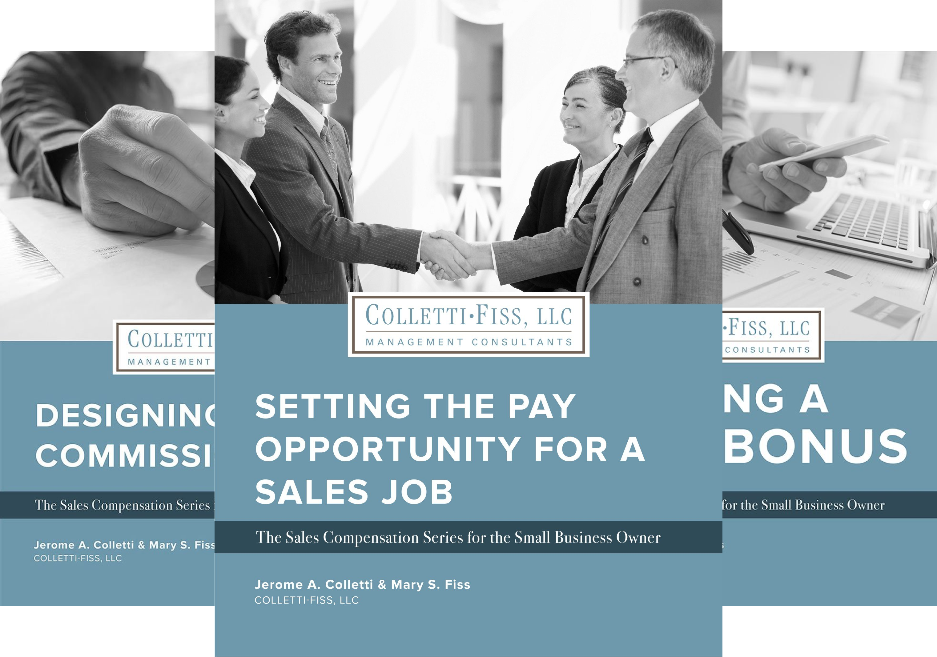 The Sales Compensation Series for the Small Business Owner (3 Book Series)