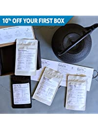 Field to Cup - Expertly Curated Premium Unique Loose Leaf Tea Subscription: Explorer - Black Tea