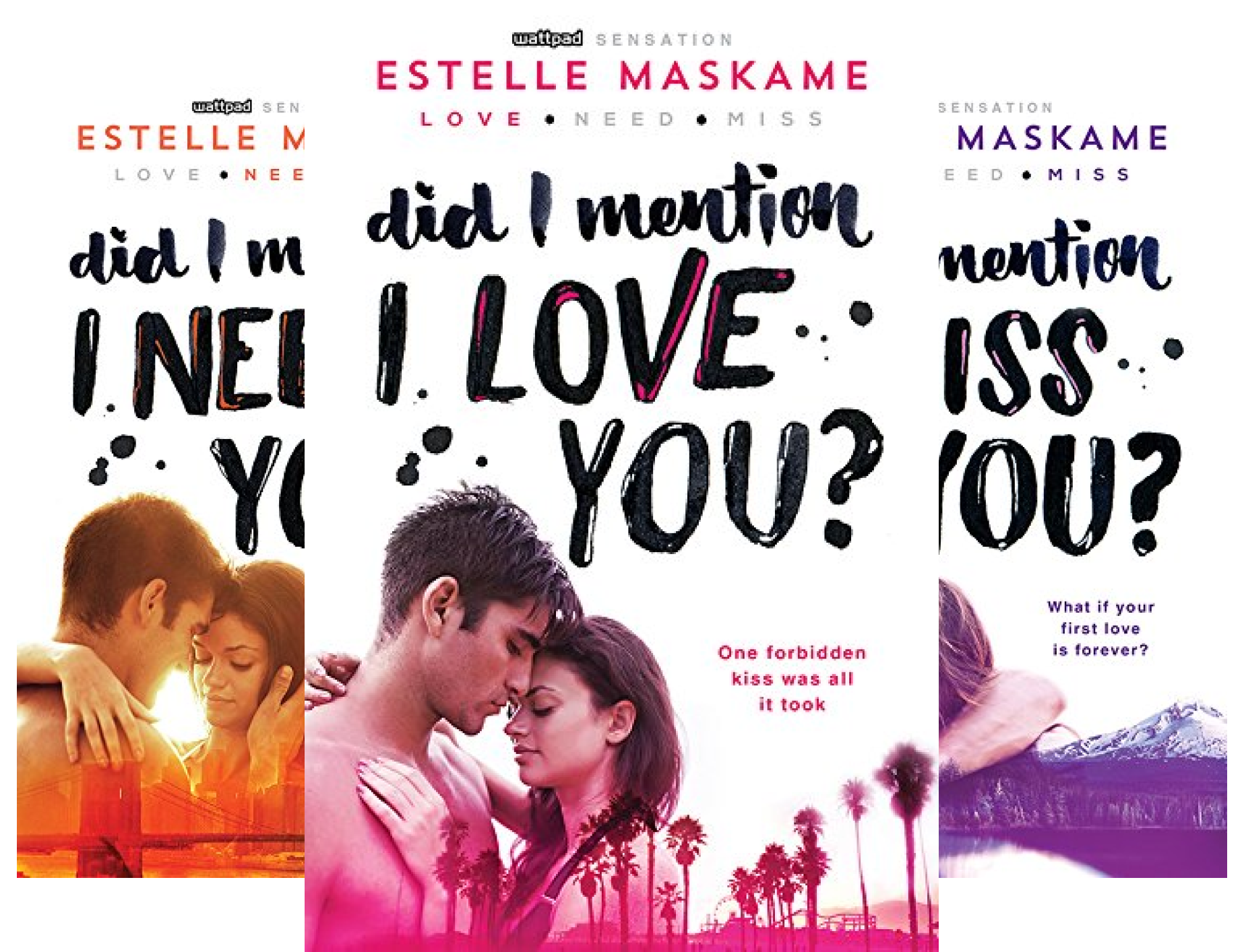 did i mention i love you dimily 3 book series