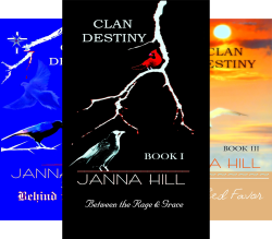 Clan Destiny (4 Book Series) by  Janna Hill _ jrh