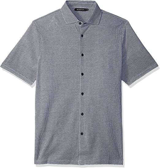 knit shirt with collar