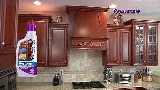 Amazon.com: Rejuvenate Cabinet U0026 Furniture Restorer Fills In Scratches    Seals And Protects Cabinetry, Furniture, Wall Paneling U2013 13 Oz.: Home U0026  Kitchen
