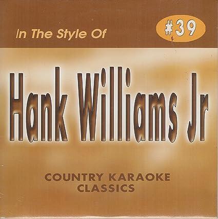 Amazon Hank Williams Jr Country Karaoke Classics Cdg Music Cd