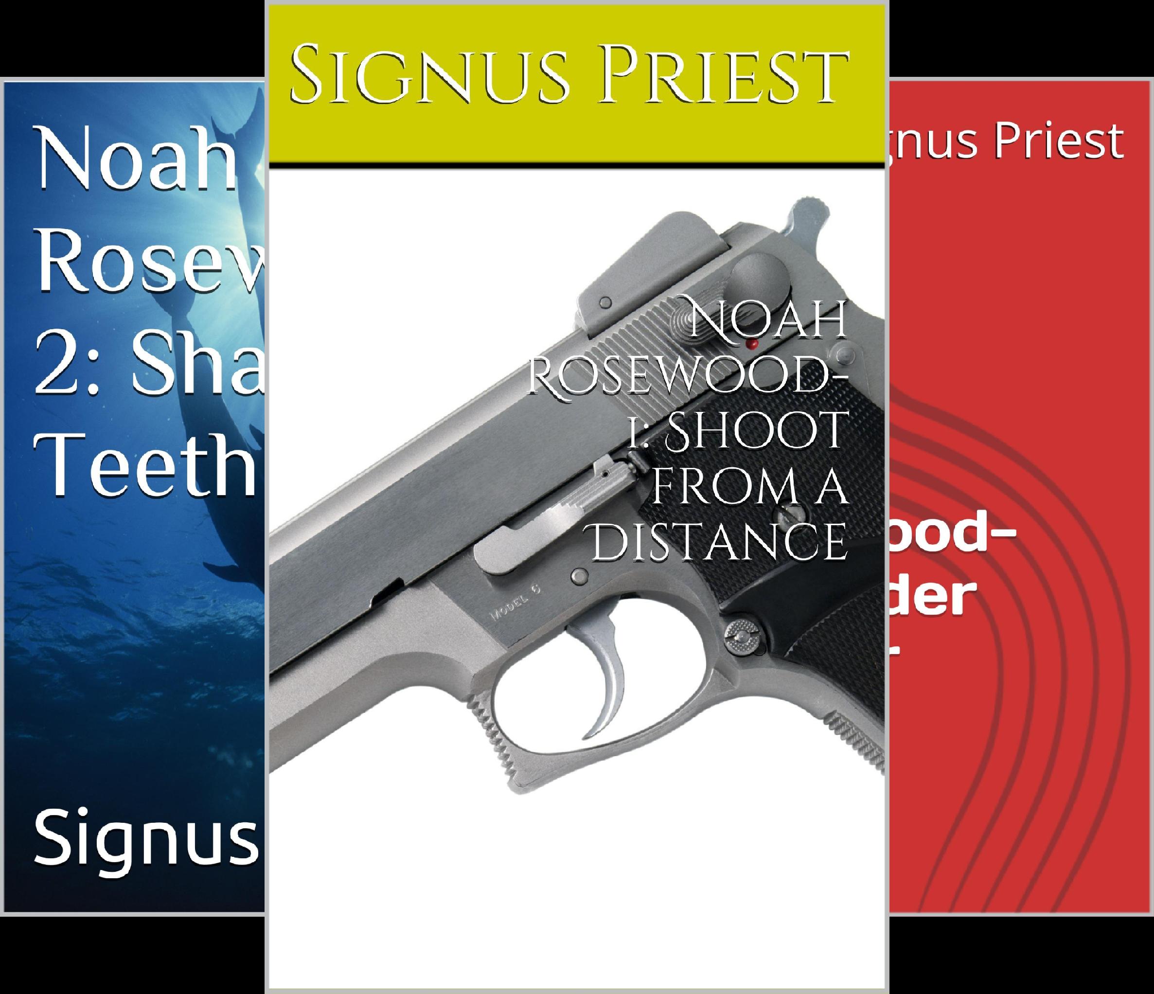 Noah Rosewood Mysteries (3 Book Series)
