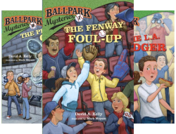 Ballpark Mysteries (14 Book Series) by  David A. Kelly