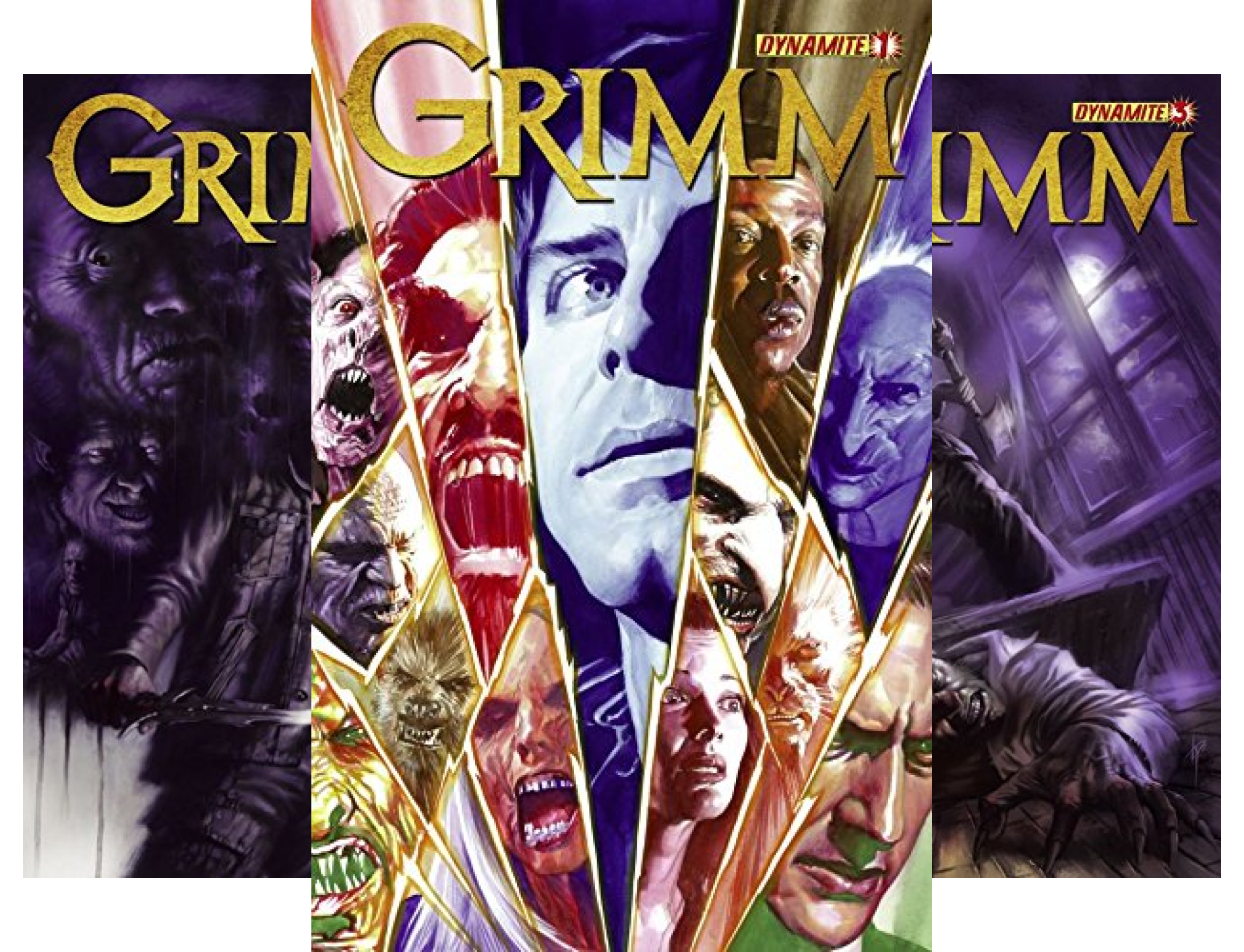 Grimm (5 Book Series)