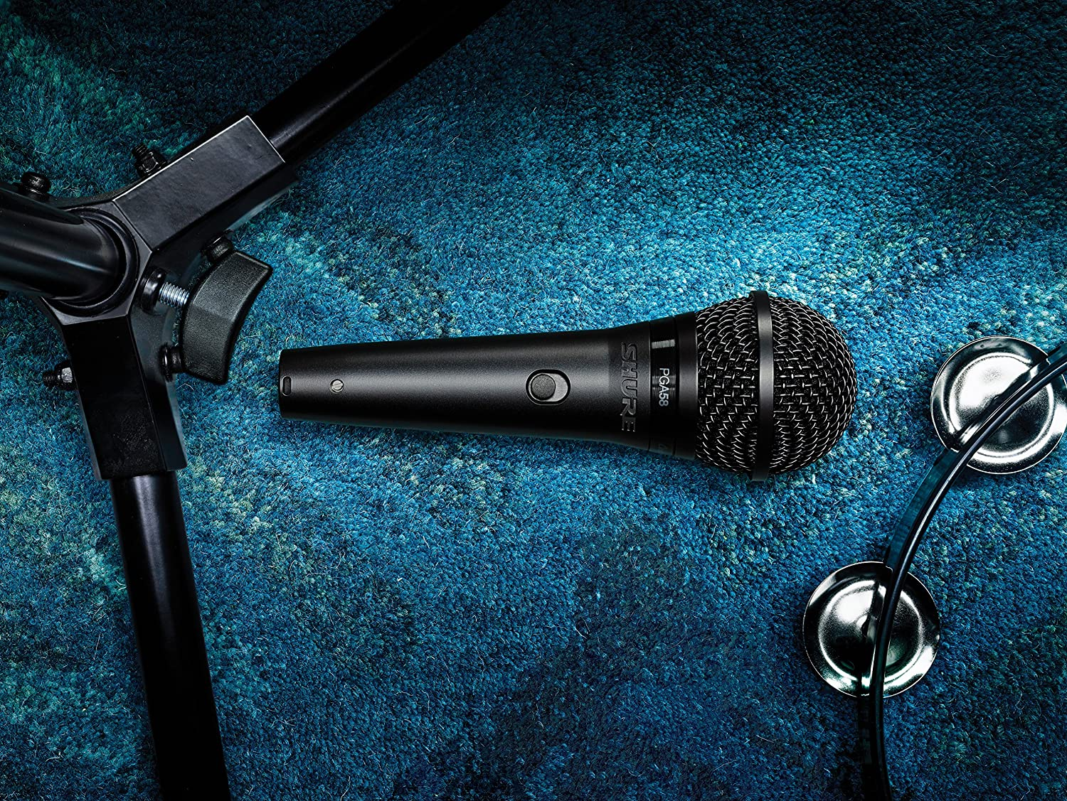 Amazon.com: Shure PGA58-XLR Cardioid Dynamic Vocal Microphone with ...
