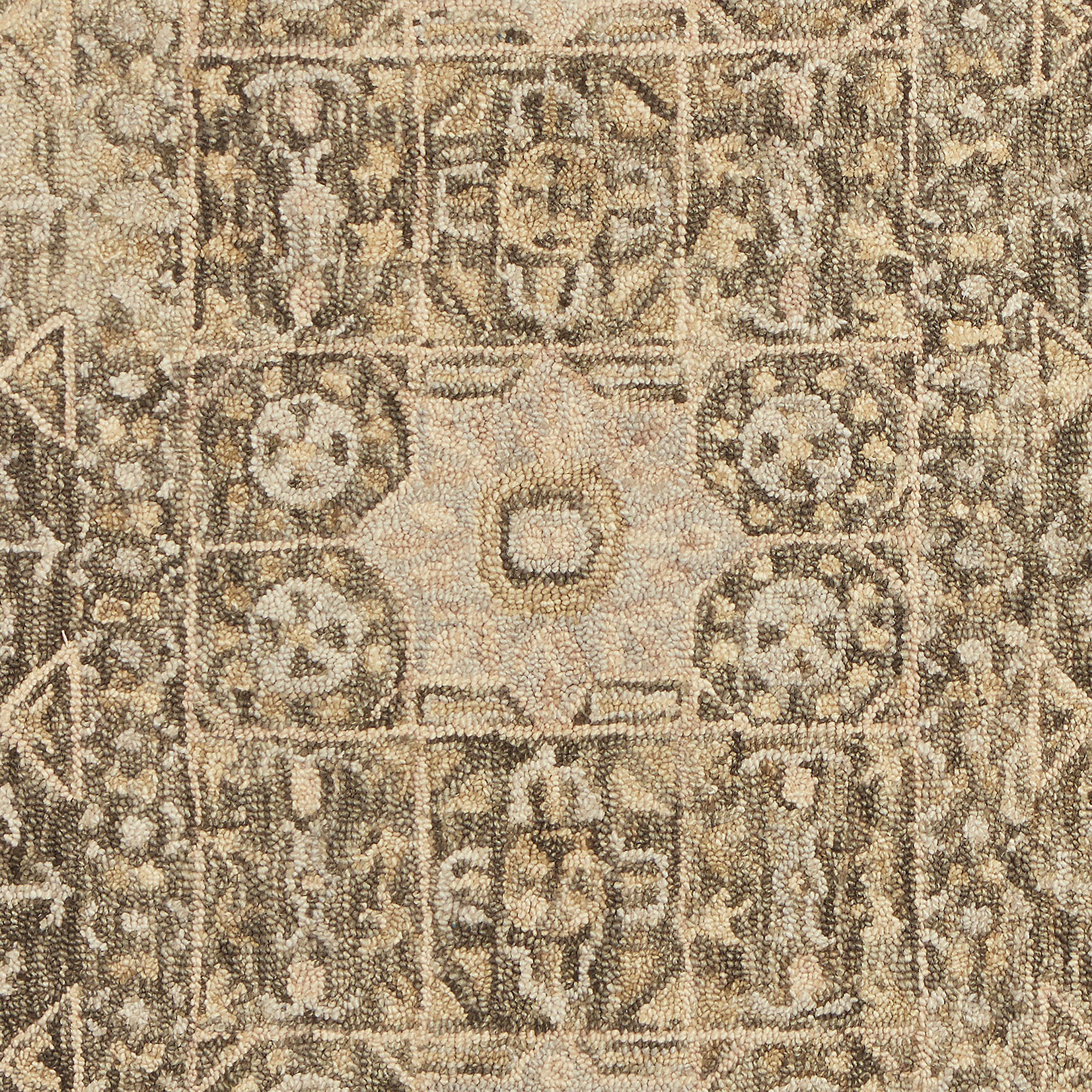 Stone & Beam Kelsea Transitional Wool Area Rug, 8' x 10', Beige and Grey by Stone & Beam (Image #2)