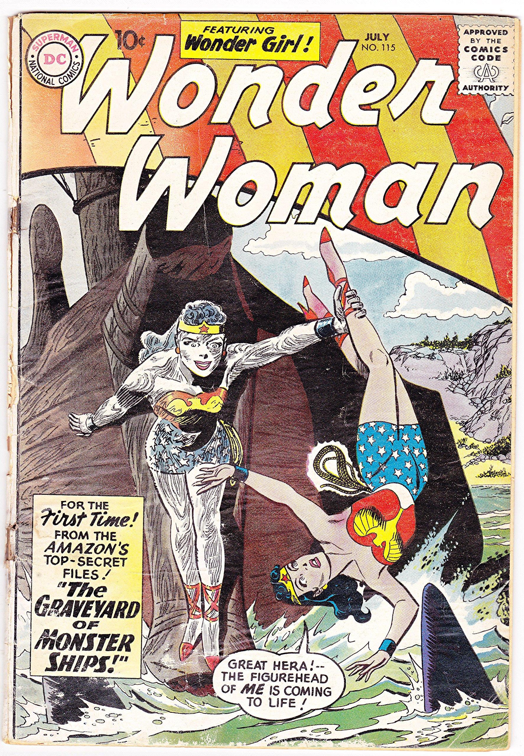 Wonder Woman #115, July 1960: DC Comics: Amazon.com: Books