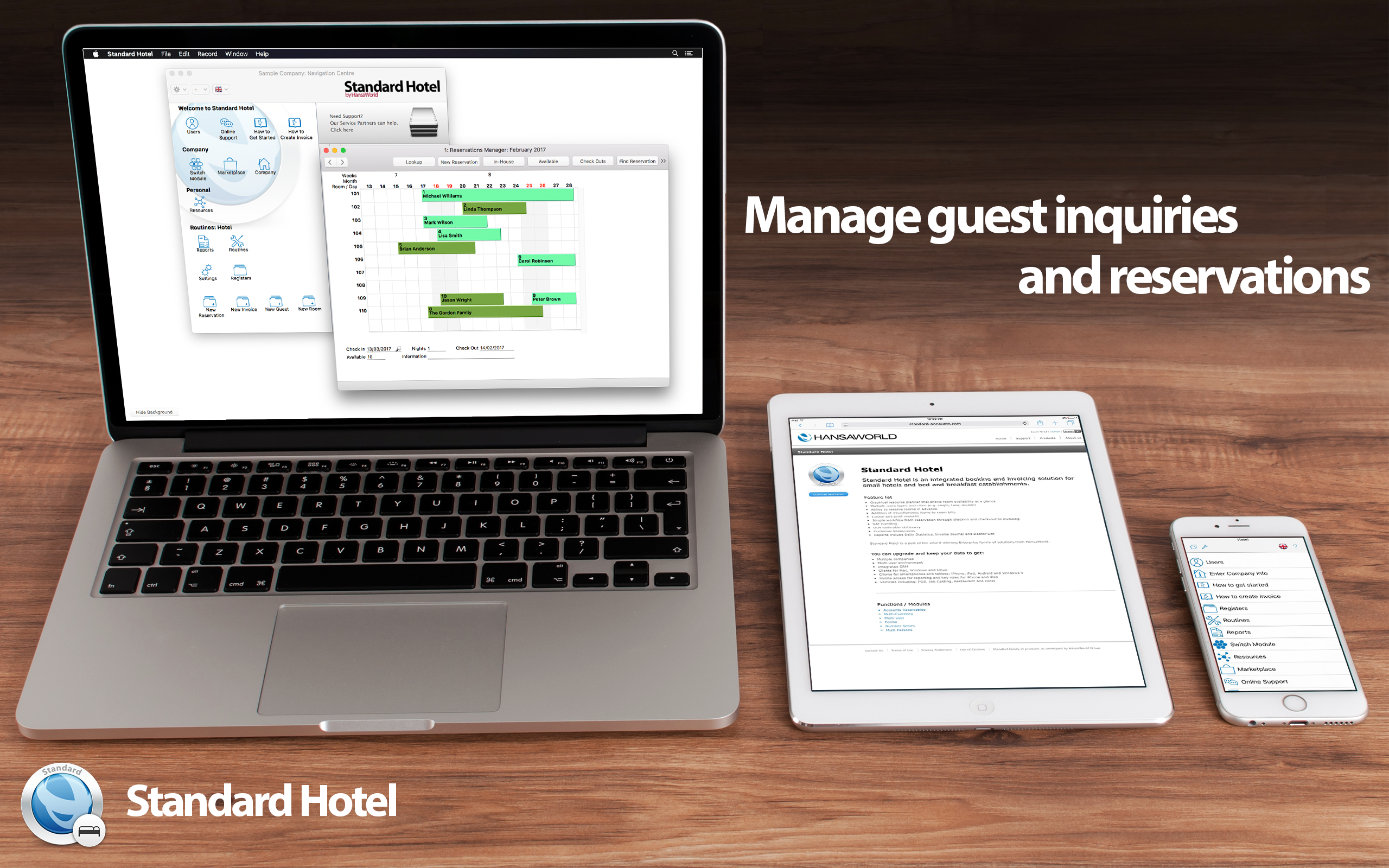 Standard Hotel - Free Hospitality Management [Download]