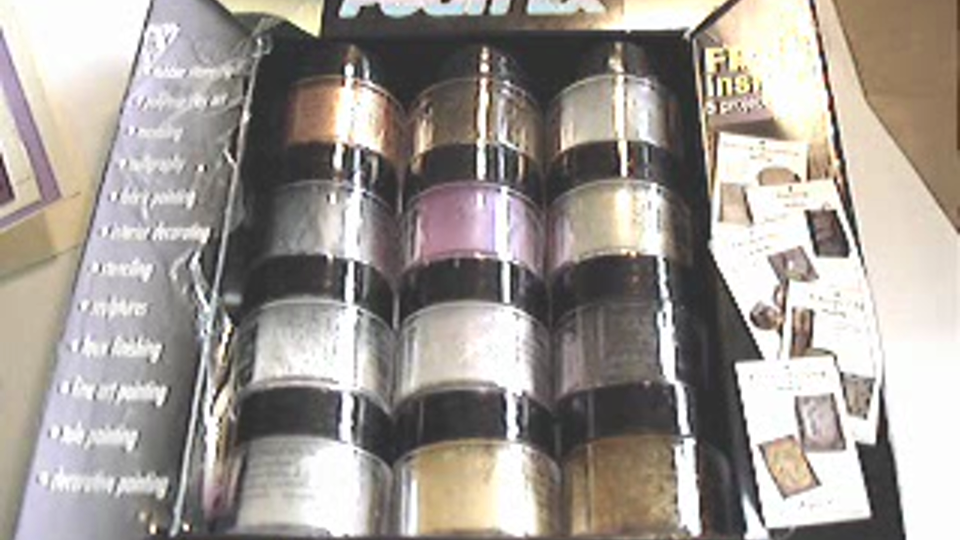 3g bottles MACROPEARL 652 Pearl Ex Mica Powdered Pigments