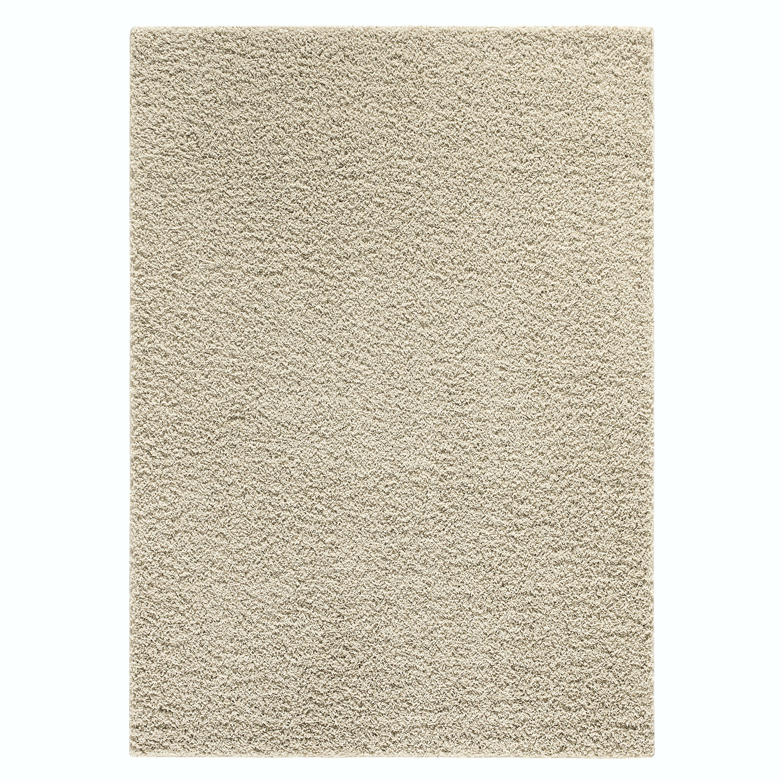 Area Rugs, Maples Rugs [Made in USA][Catriona] 7' x 10' Non Slip Padded Large Rug for Living Room, Bedroom, and Dining Room - Sand