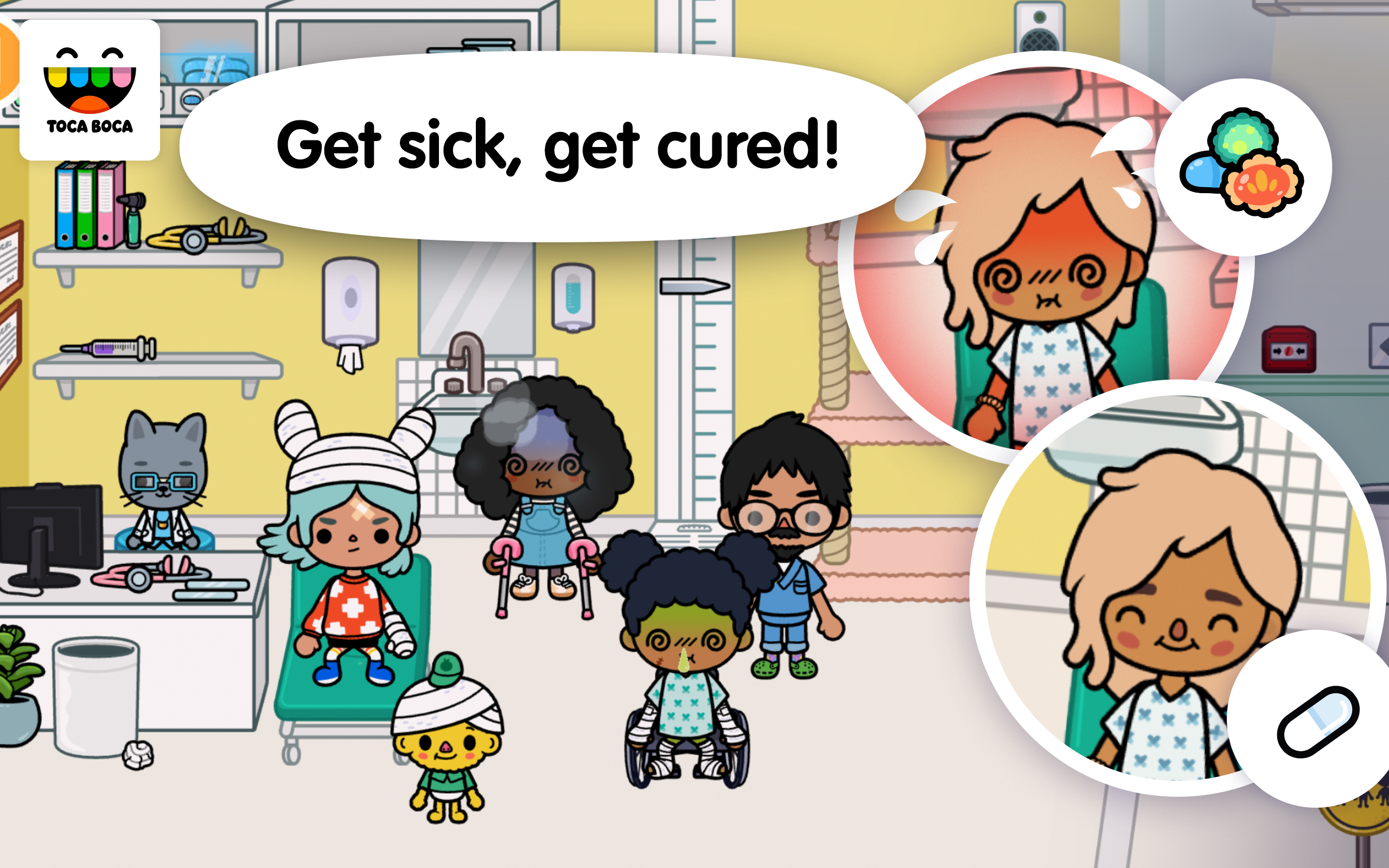 Amazon Com Toca Life Hospital Appstore For Android