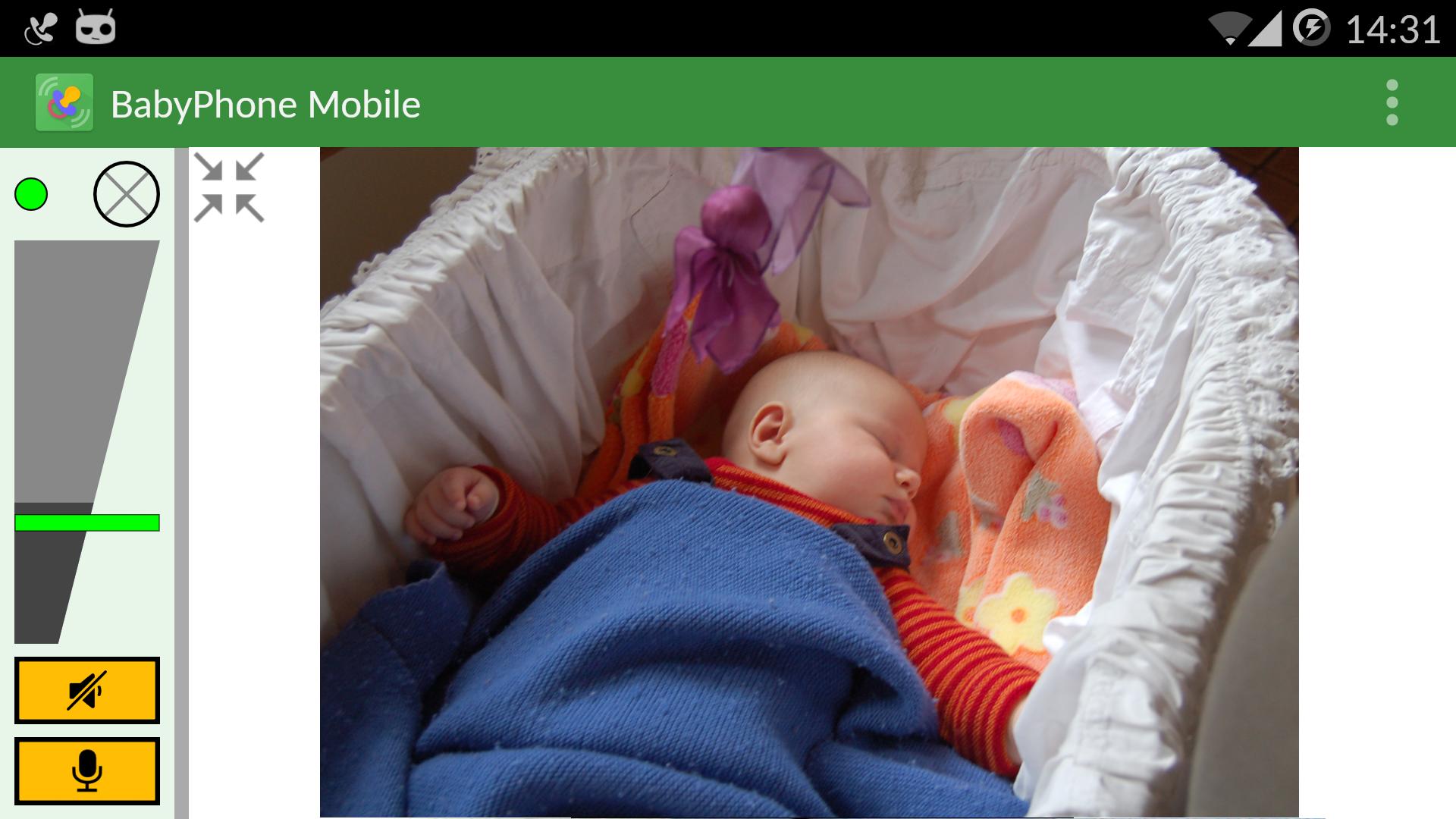 BabyPhone Mobile: Baby Monitor