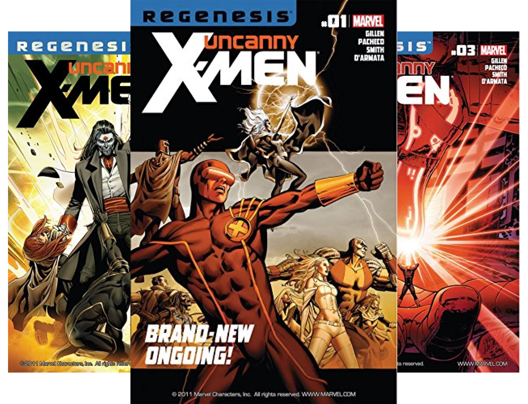 Uncanny X-Men #1-4 (4 Book Series)