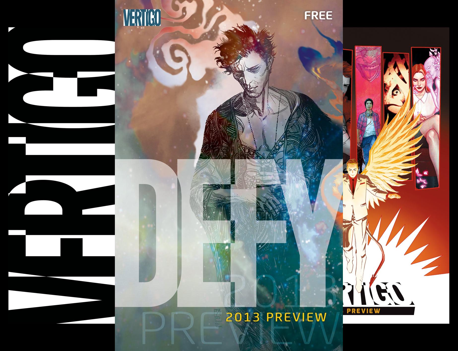 Vertigo Preview (Issues) (3 Book Series)