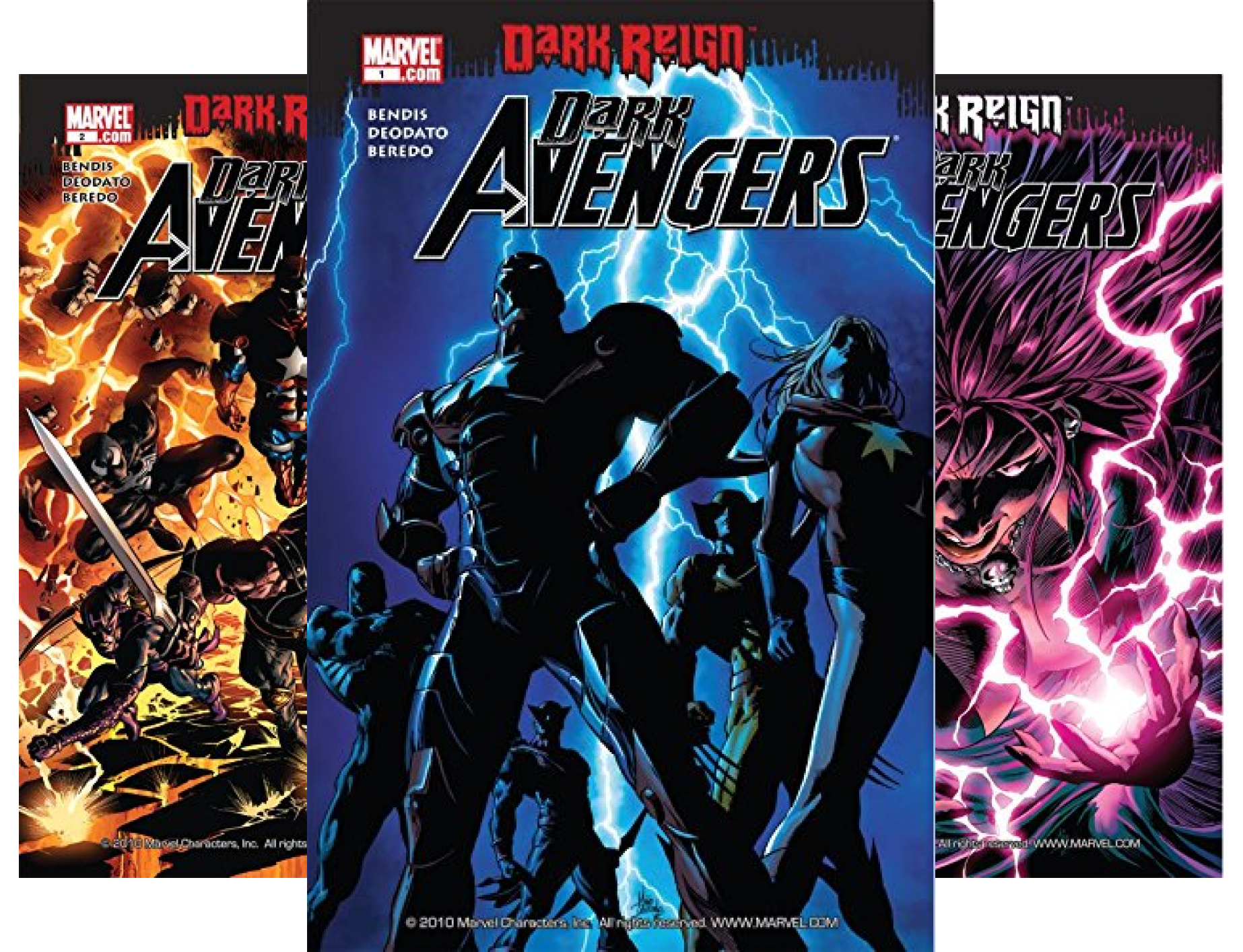 Dark Avengers #1-6 (6 Book Series) (Dark Avengers 1)