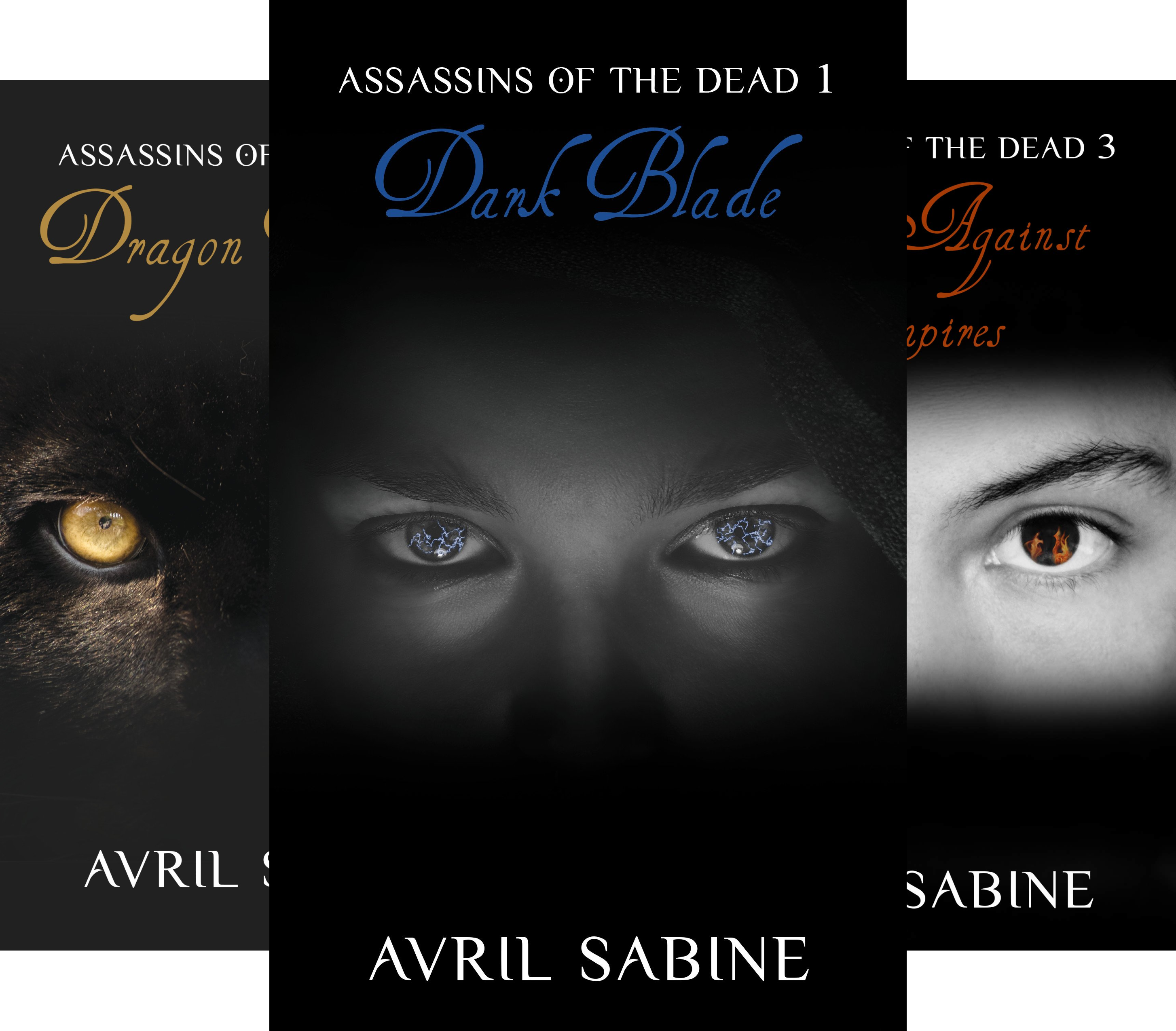 Assassins Of The Dead (3 Book Series)
