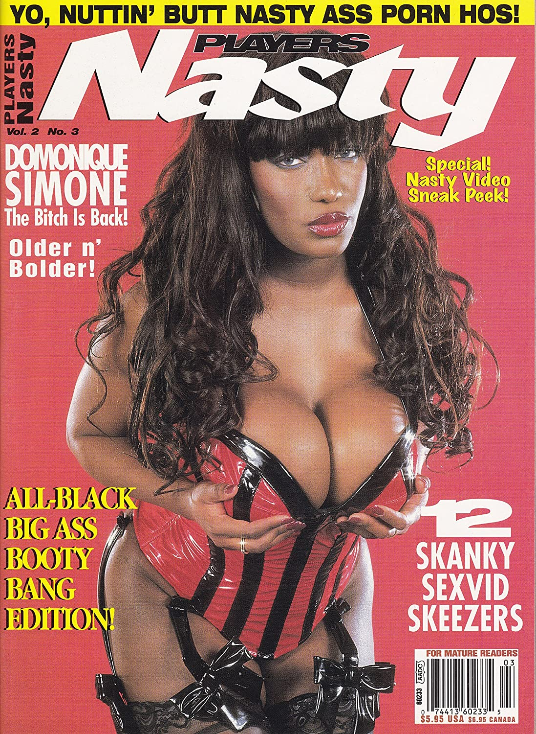 Players nasty black porn magazine — 7